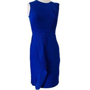 Donna Karan Royal Blue Sapphire Sleeveless dress 4